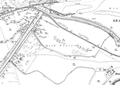 Isle of Wight Ladies' Golf Club. Location of the course in 1898.