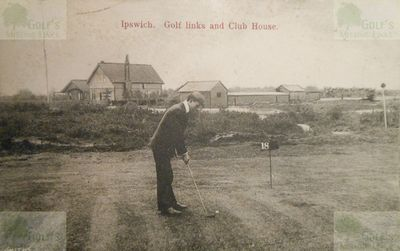 Ipswich Golf Club, Rushmere, Suffolk. Earlier golf course.