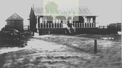 Jarrow & Hebburn Golf Club. The early clubhouse.