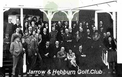 Jarrow & Hebburn Golf Club. A members gathering.