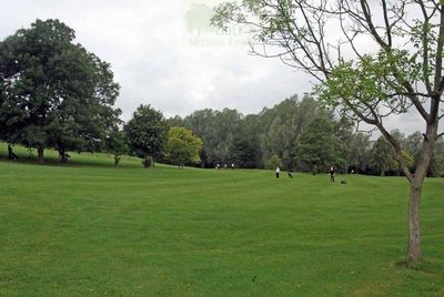 Keele Golf Club, Staffordshire. Course inits heyday.