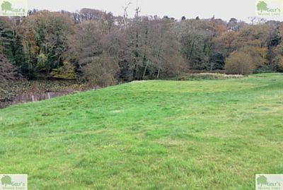 Killiow Park Golf Club, Truro. Picture of the third green in November 2020.