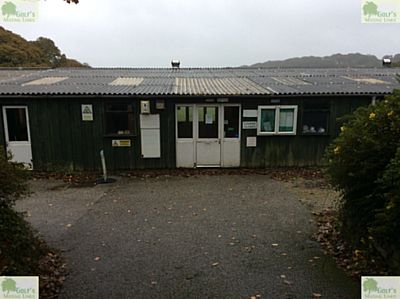 Killiow Park Golf Club, Truro. Picture of the clubhouse and pro' shop in October 2020.