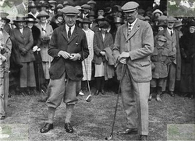 King's Lynn Golf Club, Norfolk. Opening of the course May 1923.