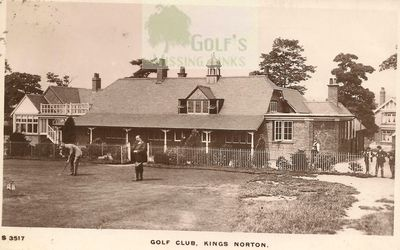 King's Norton Golf Club, Birmingham. The former clubhouse.
