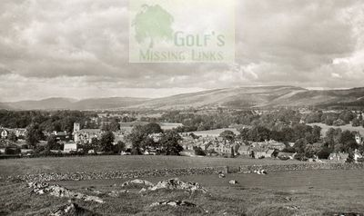 kirkby Lonsdale Golf Club, Cumria. View of the former course.
