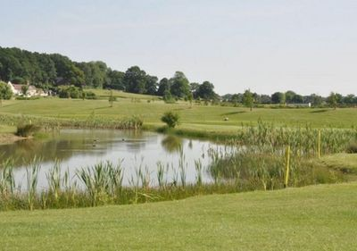 Kyngs Golf & Country Club, Market Bosworth, Leicestershire. Views of the golf course.