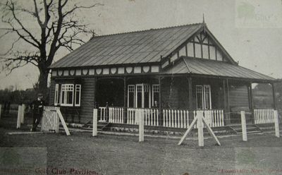 Leominster Golf Club, Herefordshire. Pre WW1 Clubhouse.