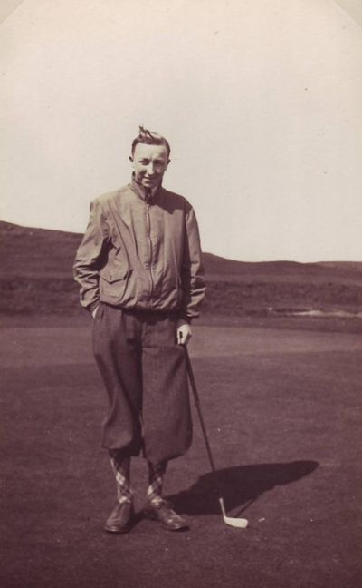 Longtown Golf Club, Cumbria. Kenneth Tennant.