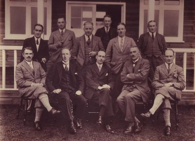 Longtown Golf Club, Cumbria. The committee.