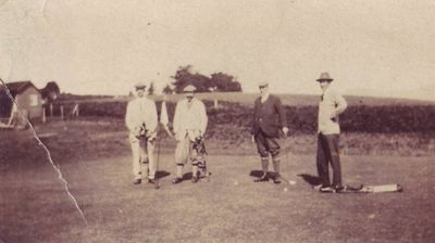 Longtown Golf Club, Cumbria. John Tennant and friends.