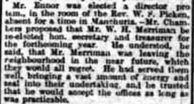 Looe Golf Club, St Martins-by-Looe, Cornwall. Report from the Royal Cornwall Gazette October 1910.