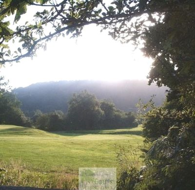 Lostwithiel Golf Club, Cornwall. View of the golf course.