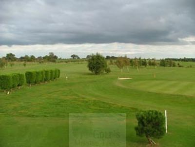 Martin Moor Golf Club, Blankney, Lincolnshire. The course.