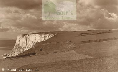 Needles Golf Club, Isle of Wight. The golf links.