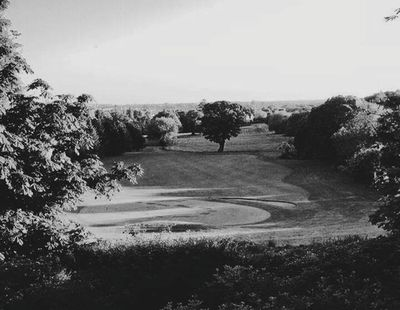 Newbold Comyn Golf Course, Leamington Spa. View of the golf course.
