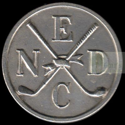 North East Derby Golf Club, Beighton. Club button.