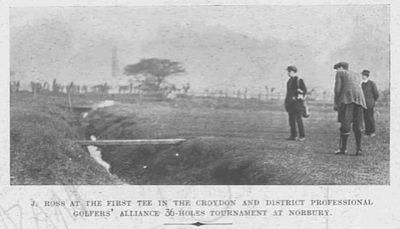 North Surrey Golf Club. Article from Illustrated & Dramatic News 1920.