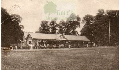 North Surrey Golf Club, Norbury. The Clubhouse.