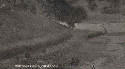 North Wilts Golf Club, Chiseldon. View of the former course.
