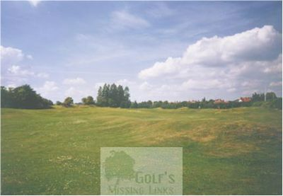 Northampton Golf Club, Kettering Road. The eighteenth fairway.
