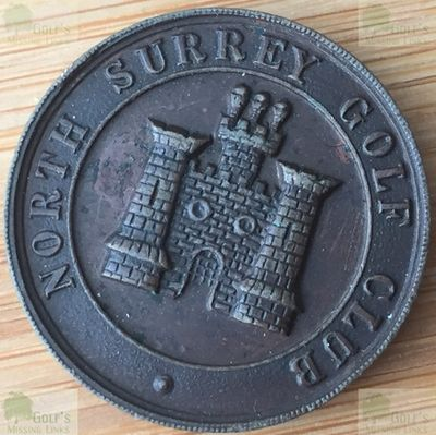 North Surrrey Golf Club. November 1915 Monthly Medal.