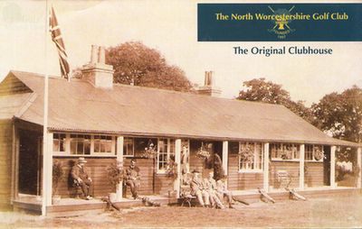 North Worcestershire Golf Club. The Original Clubhouse.