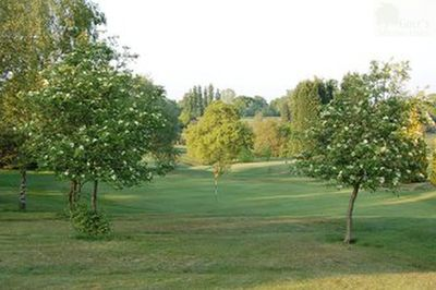 North Worcestershire Golf Club. View of the course.