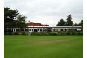 Oadby Golf Club, Leicester. The clubhouse.