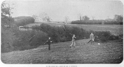 Oxford University Golf Club, South Hinksey. Images from The Illustrated Sporting Dramatic News November 1902.