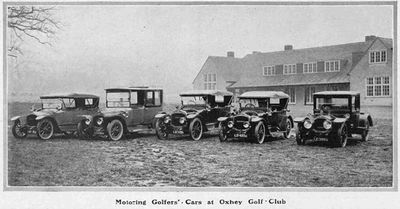 Oxhey Golf Club, Hertfordshire. Article from The Sphere January 1913.