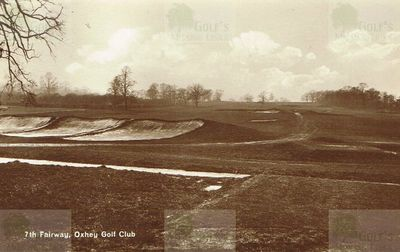 Oxhey Golf Club, Herts. The seventh fairway.