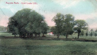 Raynes Park Golf Club, Surrey. The course in the 1900s.