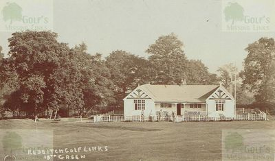 Redditch Golf Club, Worcestershire. The clubhouse.
