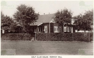 Rodway Hill Golf Club, Mangotsfield, Gloucestershire. View of the later clubhouse.