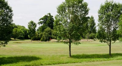 Rokers Golf Course, Guildford, Surrey. The course.