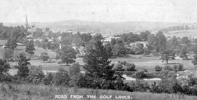 Ross-on-Wye Golf Club, Herefordshire. The Alton Court course.
