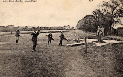Roundhay Golf Club, Leeds. The course in 1905.