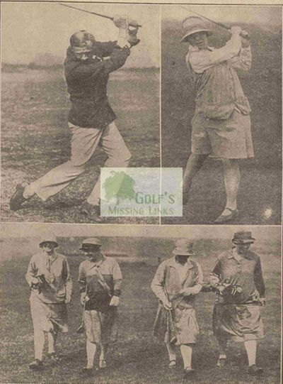 Royal Cornwall Golf Club, Bodmin. The 1927 Spring Meeting.