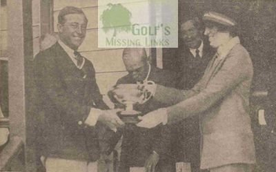Royal Cornwall Golf Club, Bodmin. Spring meeting presentation in 1927.