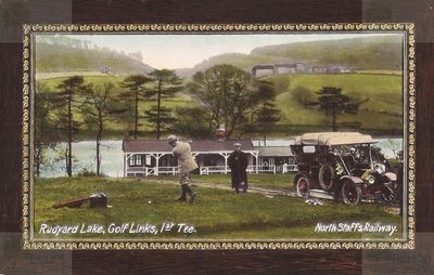 Rudyard Lake Golf Club, Staffs. The First Tee.