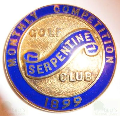 Serpentine Golf Club, Kendal. Monthly Medal 1899.