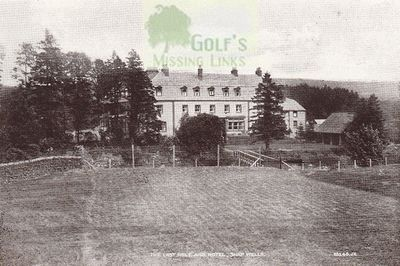 Shap Wells Golf Club, Cumbria. The ninth green.