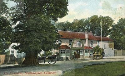 Southampton Golf Club. The Cowherds Inn possible home of the club.