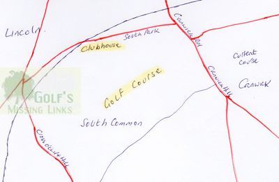 Southcliffe Golf Club, Lincoln. Location of the former course.