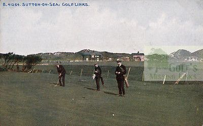 Sutton-on-Sea Golf Club. Putting out.