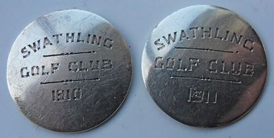 Swaythling Golf Club, Southampton. Swaythling club buttons.
