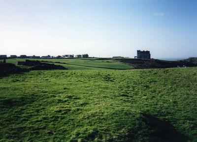 King Arthur's Castle Golf Club, Tintagel, Cornwall. The former course.