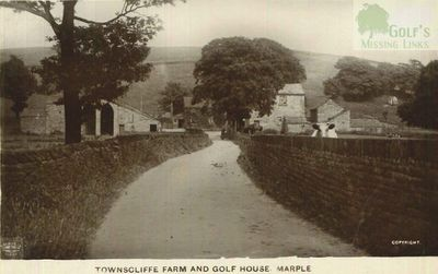 Townscliffe Golf Club, Marple. The Farm and Golf House.