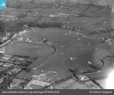 "Walsall Golf Club, Gorway, Walsall. The former Walsall golf course on ""Britain from Above."""